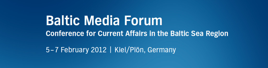 Baltic Media Forum 2012