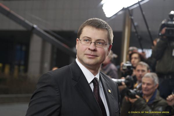 Valdis Dombrovskis March 2012