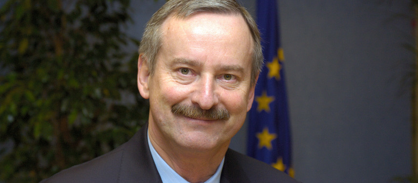 Portraits of M. Kallas, member of the EC