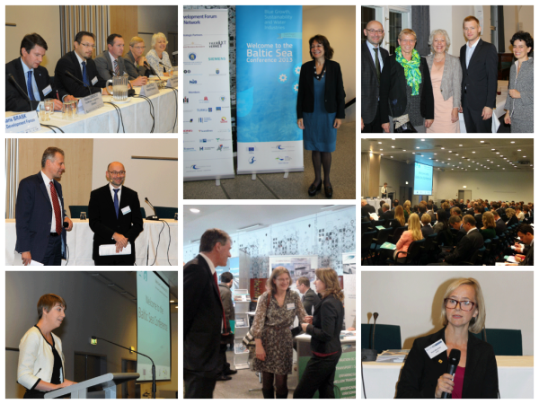 Photos from Baltic Sea Conference 2013