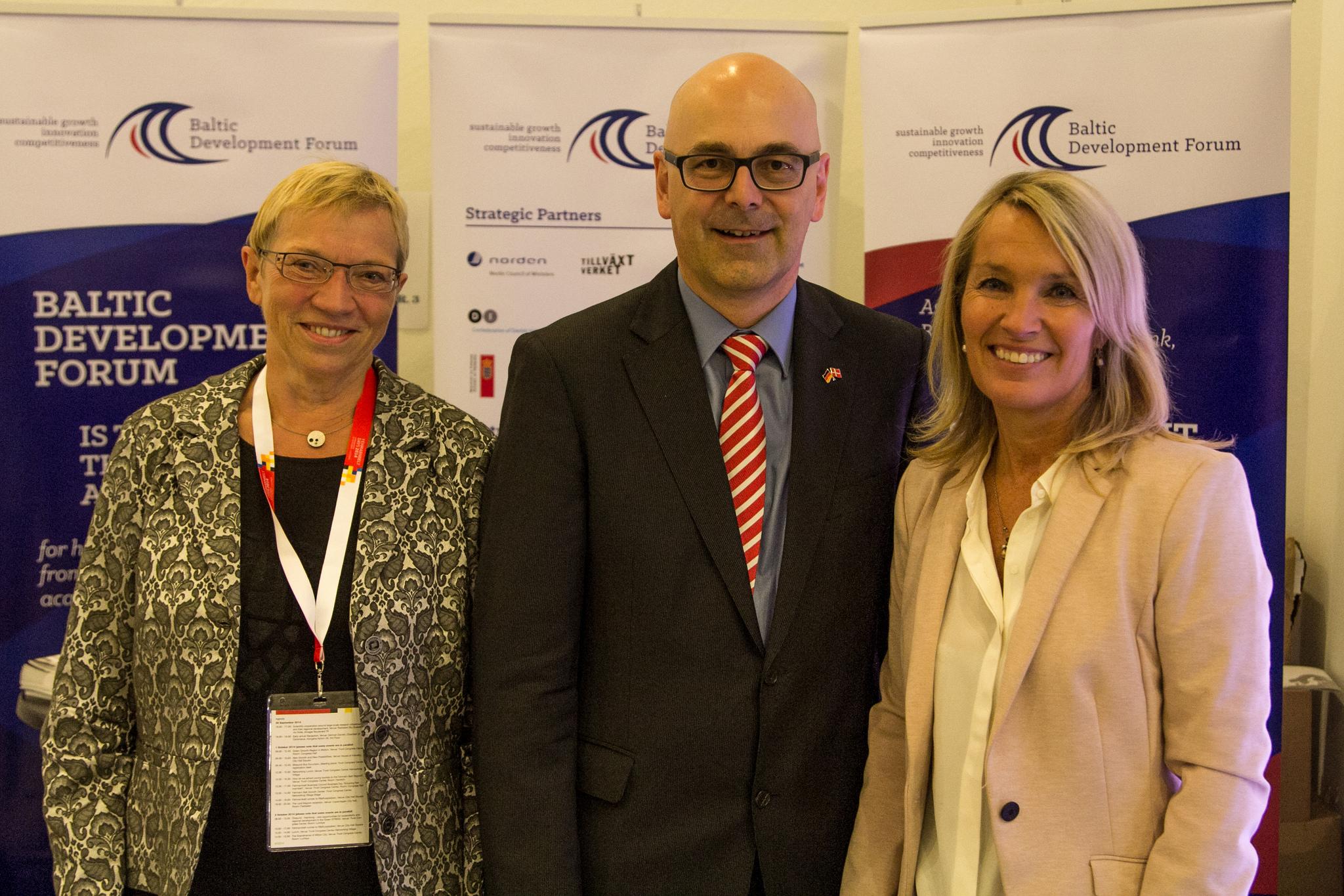 Anke Spoorendonk, Torsten Albig and Lene Espersen