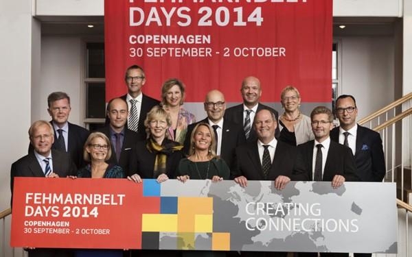 Fehmarnbelt Days 2014 official opening