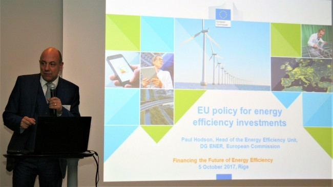 Paul Hodson, Head of Energy Efficiency Unit, DG ENER, European Commision
