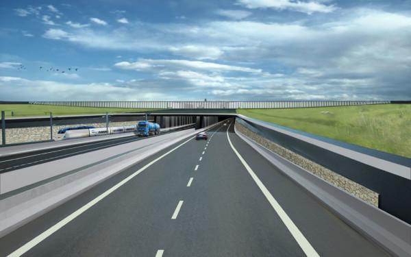 Fehmarnbelt Tunnel portal Denmark