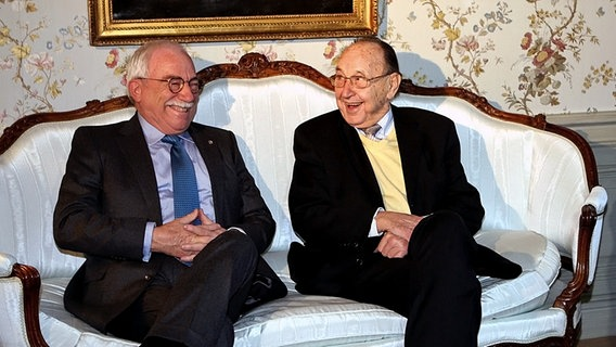 Uffe Ellemann-Jensen and Hans-Dietrich Genscher